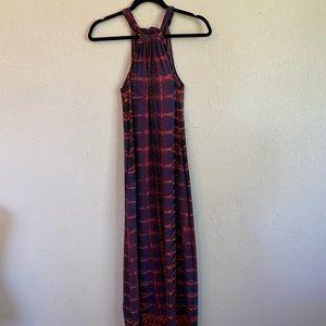 Athleta - Beautiful Halter Strap Maxi Dress